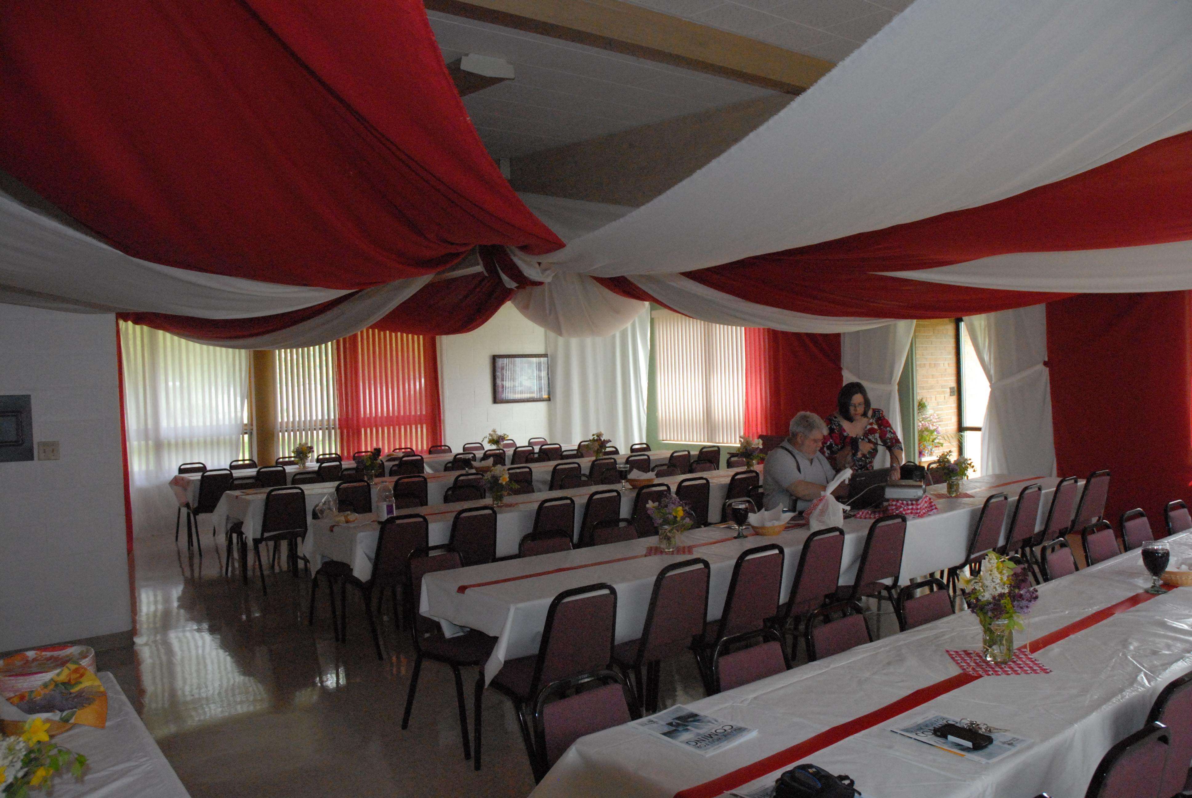 Tent Revival Preparations 2