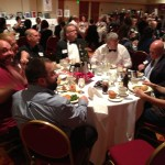The FCC Janesville table at the Monona Terrace